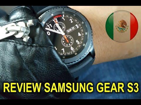 Review a fondo del Samsung Gear S3 en español - México