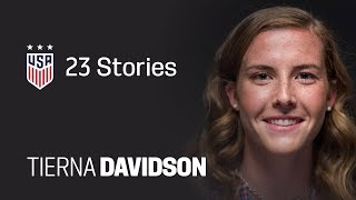 ONE NATION. ONE TEAM. 23 Stories: Tierna Davidson