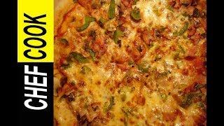 Εύκολη Πίτσα Με Ψωμί Του Τοστ