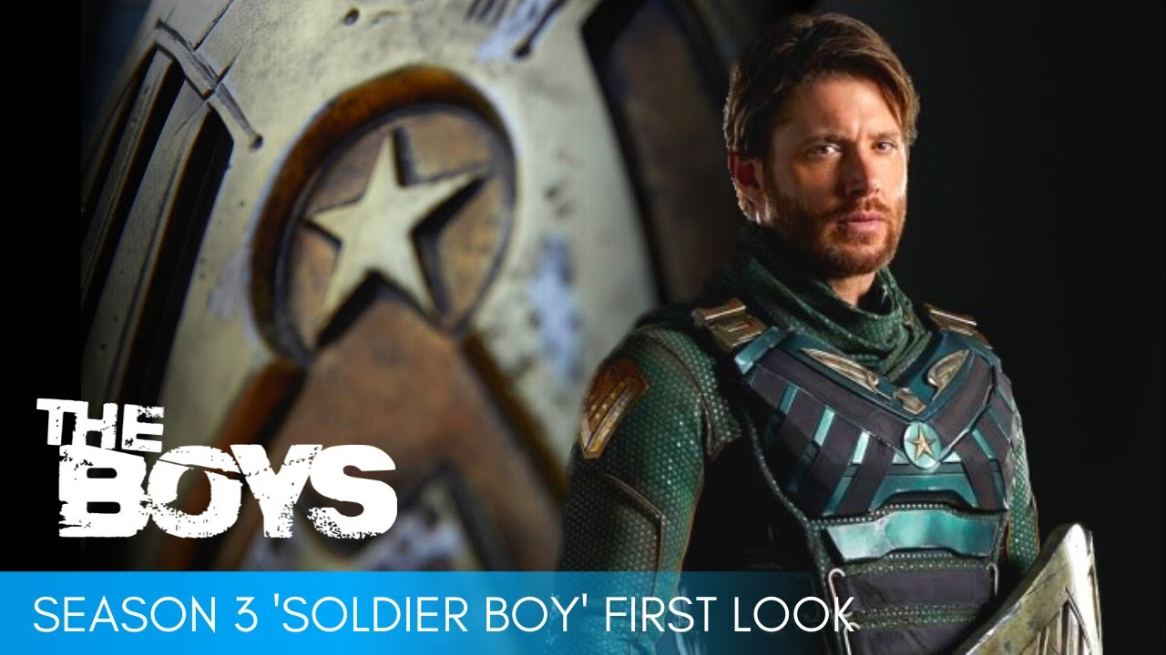 The Boys season 3 unveils first look at Jensen Ackles as Soldier Boy