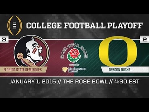 Rose Bowl 2015- Oregon Ducks Highlights