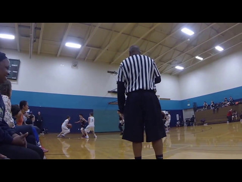 AAU U-11 Seattle Pride Basketball vs Arch Rivals Green 05-06-2017