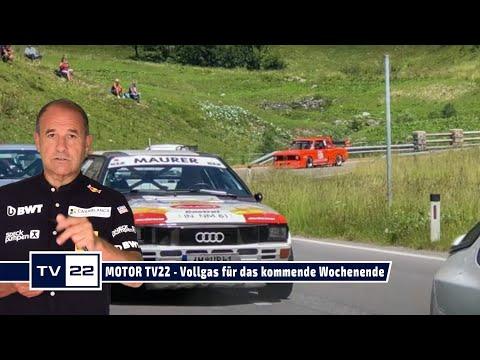 MOTOR TV22: Mit Vollgas ins kommende Wochenende - Arlberg Bergrennen, Motocross JuniorCup und mehr!