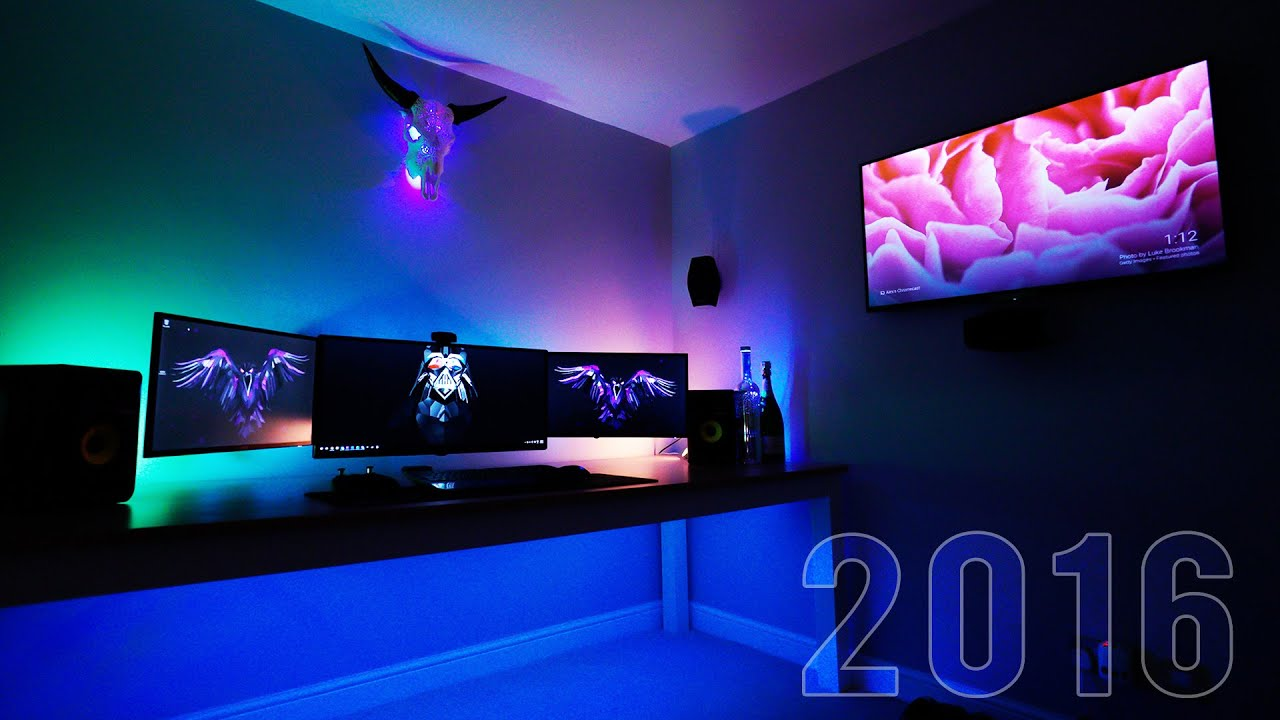 Marzbar S Ultimate Gaming Setup 2016 Youtube