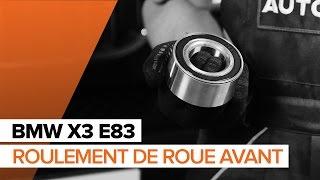 Comment remplacer Filtre à Carburant BMW X3 (E83) - tutoriel