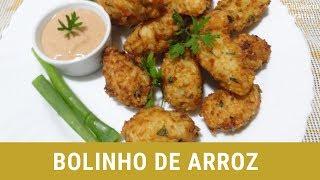 BOLINHO DE ARROZ RÁPIDO E SIMPLES
