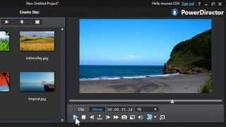How To apply the Cross-fade Transition to your videos in PowerDirector 12