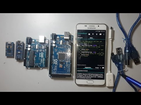 Program Arduino With Android Smartphone