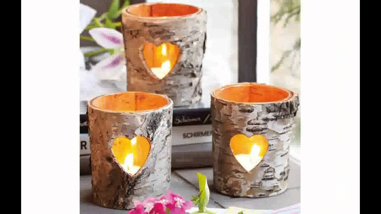 Candle decoration ideas youtube for Decoration candles