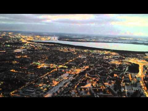 Landing at Tallinn, Estonia - RWY 08 / Cockpit view