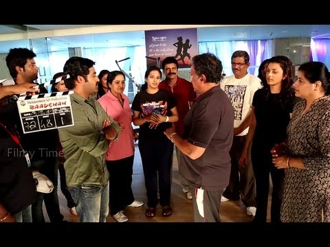 Making Of Baadshah Comedy Scenes - NTR,Kajal Aggarwal