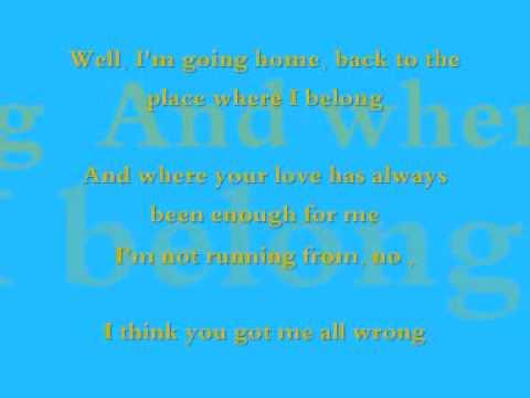 HOME -  Daughtry ( Lyrics )