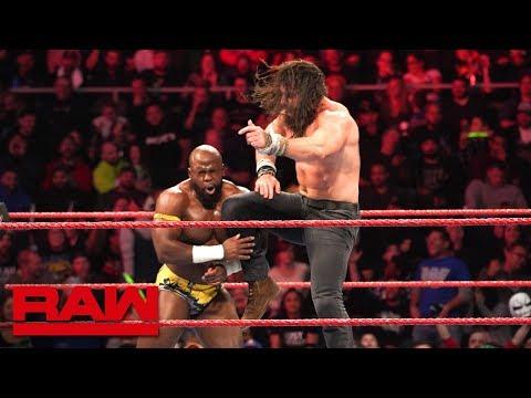 Apollo Crews vs. Elias: Raw, Oct. 22, 2018