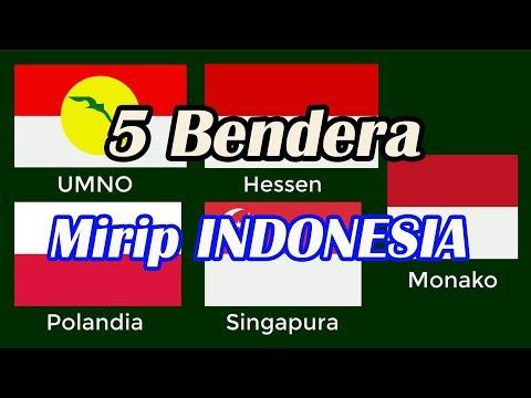 5 Bendera Merah Putih Ini Mirip Punya Indonesia