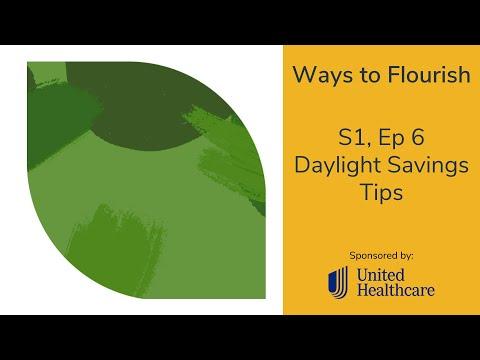 S1, Ep 6 - Daylight Savings Sleep Tips