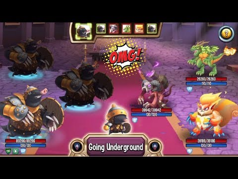 Monster Legends - ARMOLE level 120 vs SOULFAGOUS review combat Good Epic