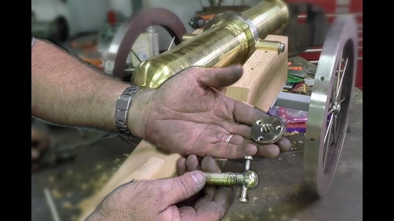 building an historic brass cannon ep 7 fabricating the barrel