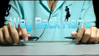 WAY BACK HOME || 숀 (SHAUN) || Pen Tapping cover by Hatake Tapper