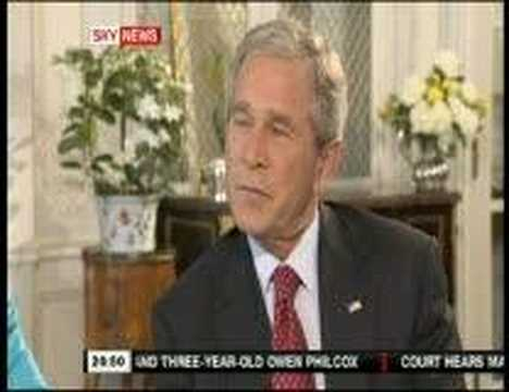 More Reptilian clips: George & Laura Bush Sky News Interview