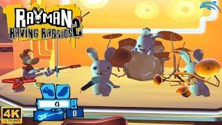 Rayman Raving Rabbids 2 - Wii Gameplay 4k 2160p (DOLPHIN)