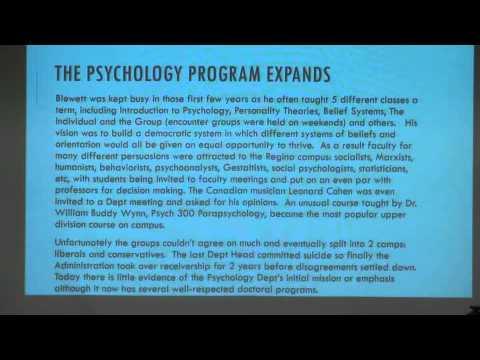 Life & Times of Canadian LSD Researcher Duncan Blewett
