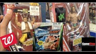 HUGE WWE TOY HUNT