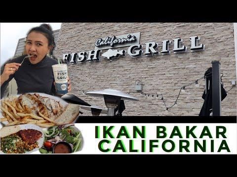 CALIFORNIA FISH GRILL || IKAN NYA MANTAP