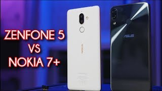 ZenFone 5 - runda druga feat. Nokia 7 plus  ▕ porównanie #120[PL]