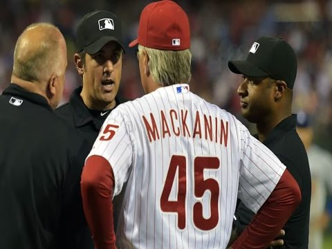 Watch: Phillies Reliever Throws At Asdrubal Cabrera, Pete Mackanin Gets Ejected