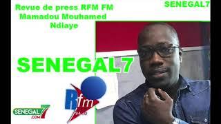 Revue de Presse (Wolof) Rfm du Mardi 25 Juin 2019 Par Mamadou Mouhamed Ndiaye