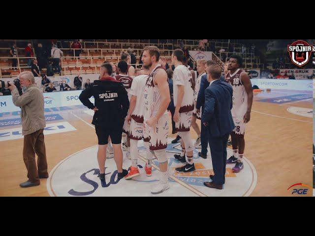 Skrót meczu PGE Spójnia Stargard - King Szczecin