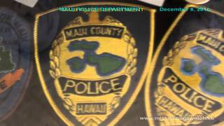 HAWAII POLICE: MAUI POLICE DEPARTMENT (KAHALUI WAILUKU) INSIDE LOOK