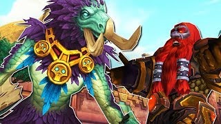 Is The Horde Winning Allied Races? What Could Alliance Get As Cool As Zandalari Dino Forms? BfA