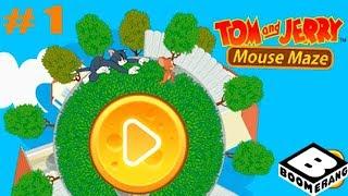 Том и Джерри Mouse Maze прохождение #1 Знакомство и Обучение (уровни 1-5)