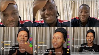 Keri Hilson joins Stonebwoy on IG Live, Talks about Ghana Music & Shatt...