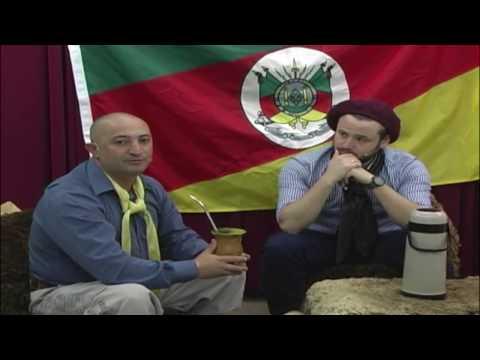 Chasque do Rio Grande na TV Cidade recebe o Casal Buenas com Bruno e Aline RS 2804