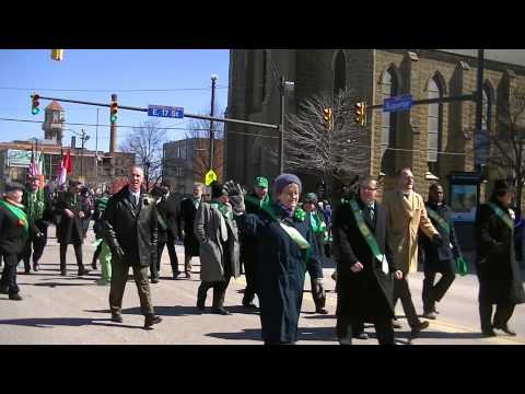 2014 Cleveland St. Patrick's Day Parade Highlights - beginning