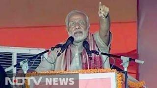 Nitish, Lalu made youth of Bihar migrants, says PM Modi at Chhapra rally