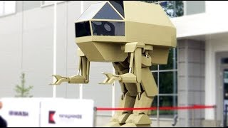 モビルスーツ的?ロシアの兵器メーカー、カラシニコフが防弾スーツとして機能する歩行型の戦車をお披露目。電動自動車も!