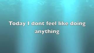 The Lazy Song- Bruno Marz (lyrics)