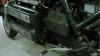 BMW K75  Wake up after wintersleep