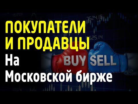 Покупатели и продавцы на фьючерсах Московской биржи. Обучение трейдингу. [Обзор FORTS. TradersGroup]