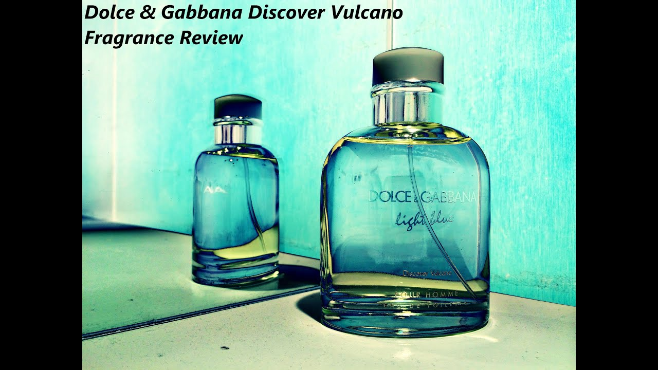 Dolce Amp Gabbana Discover Vulcano Cologne Review New 2014
