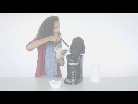 Black+Decker - How to Clean Your Coffeemaker - CM1060B