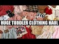 FALL + WINTER TODDLER CLOTHING HAUL | Tara Henderson