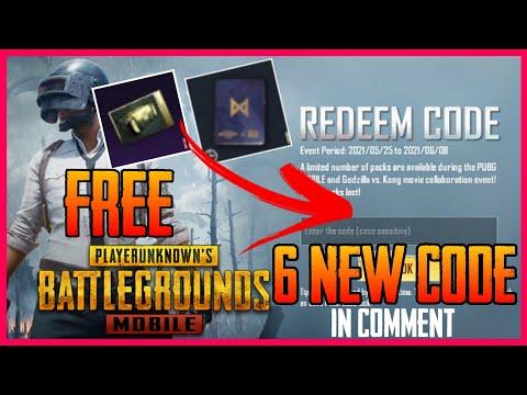 NEW REDEEM CODE PUBGMOBILE    NEW EVENT    GODZILLA VS KONG EVENT PUBGMOBILE GET FREE REWARDS