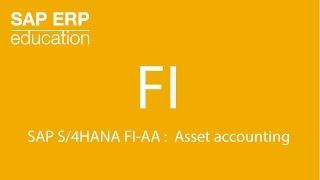 SAP S/4HANA FI-AA : comptabilité des immobilisations
