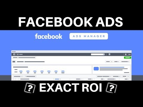 How To Know Your EXACT ROI With Facebook Ads - Facebook Ads Custom Tracking