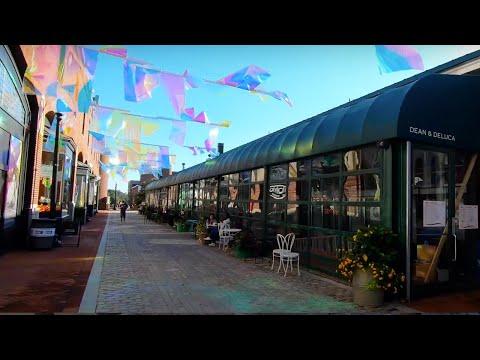 Georgetown, USA Walking Tour - Historic Shipping Hub in Washington D.C.