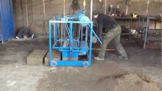 Вибростанок для изготовления строительных блоков(, 2013-03-17T05:05:30.000Z)